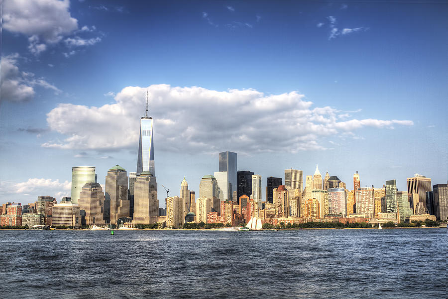 New York City Photograph - Beautiful Big Apple by Zev Steinhardt
