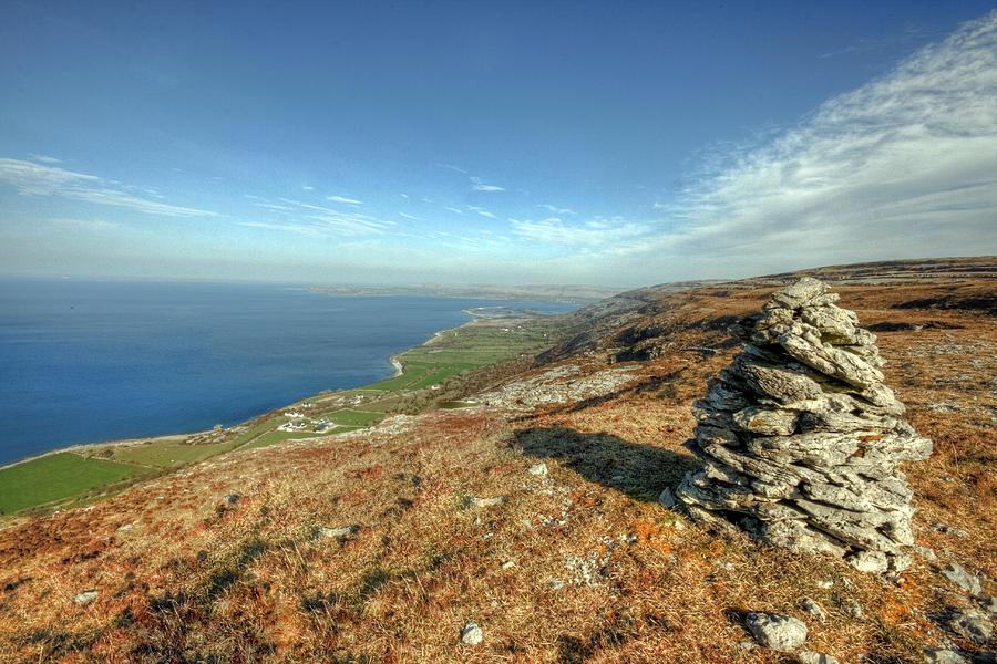 Burren Photograph - Beautiful Burren View by John Quinn