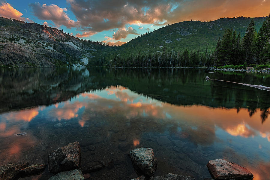 Beautiful Castle Lake by John Hight