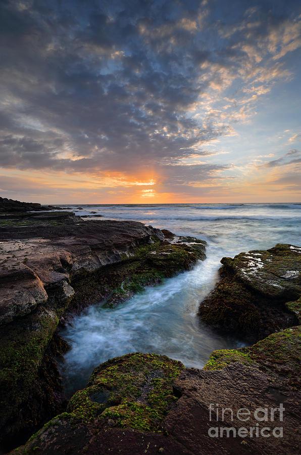 Beautiful Coastal Sunrise Photograph