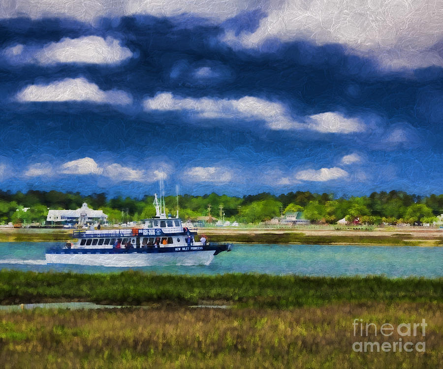 Canvas Prints Photograph - Beautiful Day by Dave Bosse