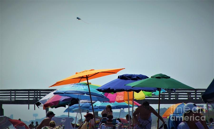 Beach Photograph - Beautiful Day For The Beach by Dee Winslow