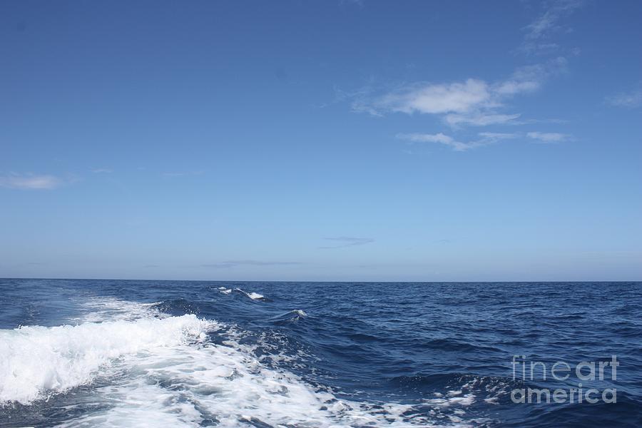 Telfer Photograph - Beautiful Day On The Atlantic Ocean by John Telfer