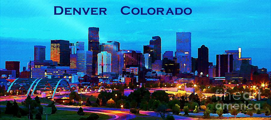 Inspirational Denver Painting Beautiful Denver City At Night by John Malone Trending - Best of paint nite denver In 2018