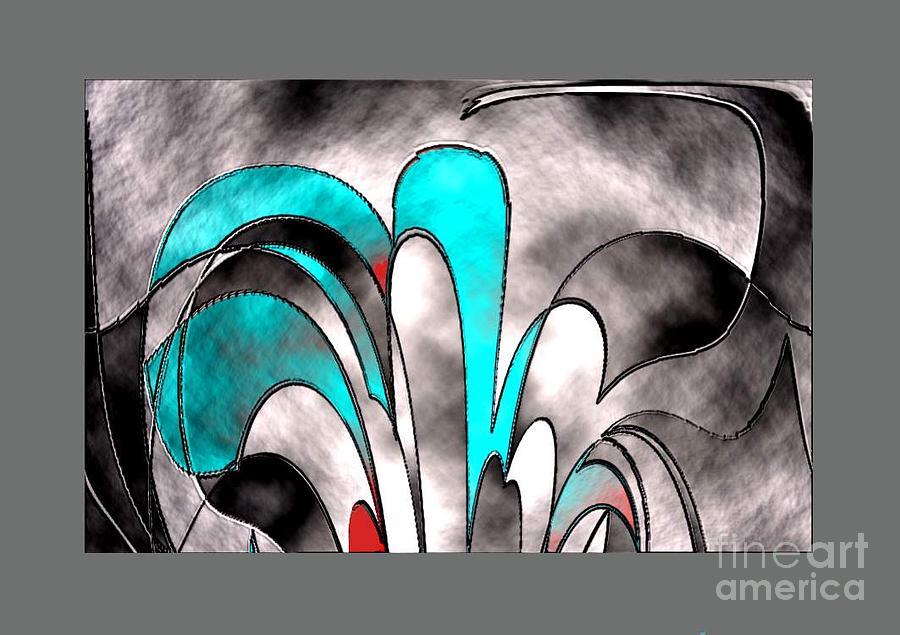 Flower Digital Art - Beautiful Flower by Aline Pottier  Gama Duarte
