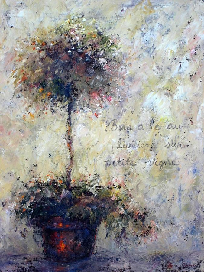 Plants Painting - Beautiful Is The Light by Bonnie Goedecke
