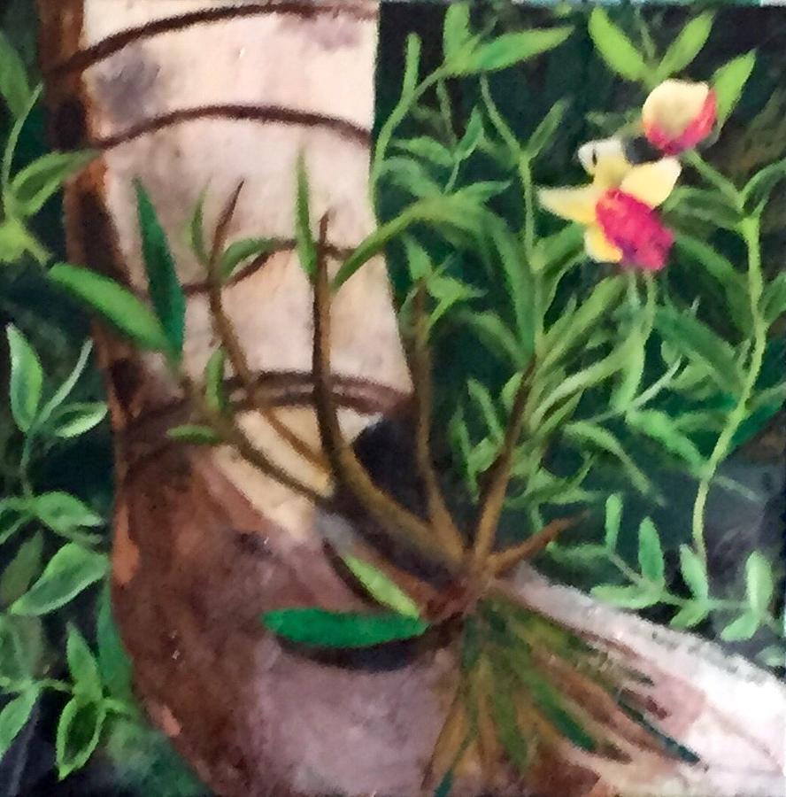 Jungle Painting - Beautiful Jungle Orchids by Jason Rosenstock
