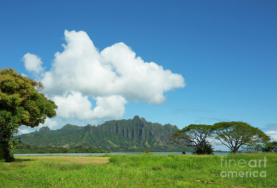 Beautiful Kualoa Ridge by Charmian Vistaunet