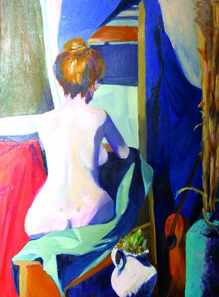 Portrait Painting - Beautiful Line by Jennifer Hall