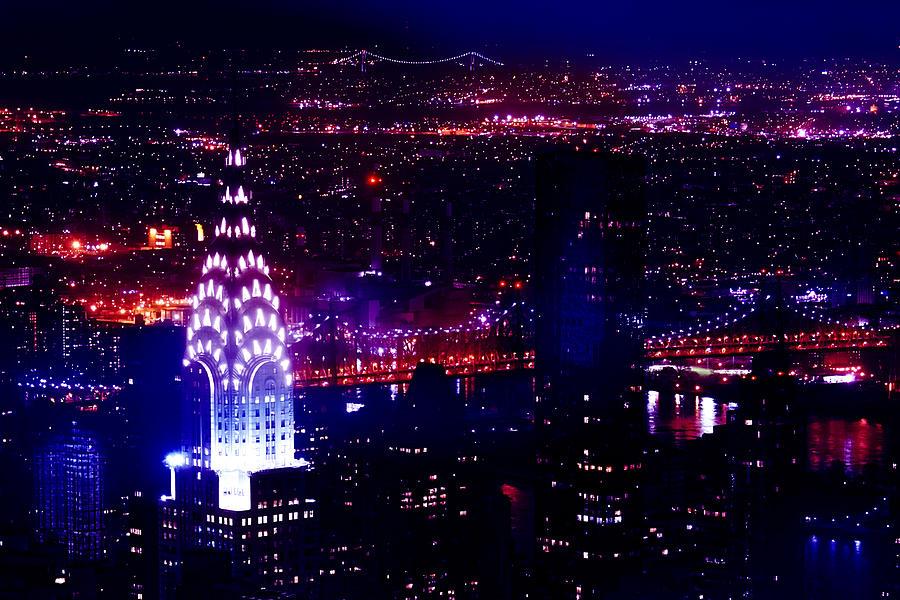New York City Photograph - Beautiful Manhattan Skyline by Az Jackson