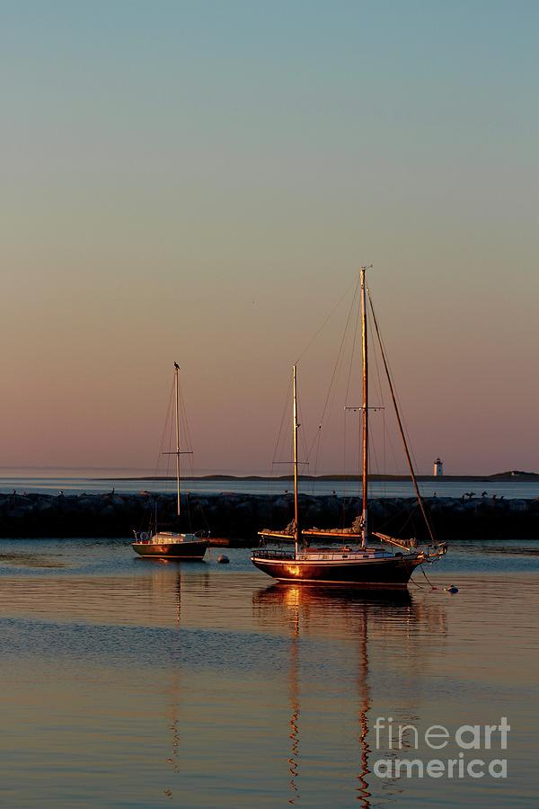 Beautiful Morning Provincetown Pier Photograph by Gregory E Dean