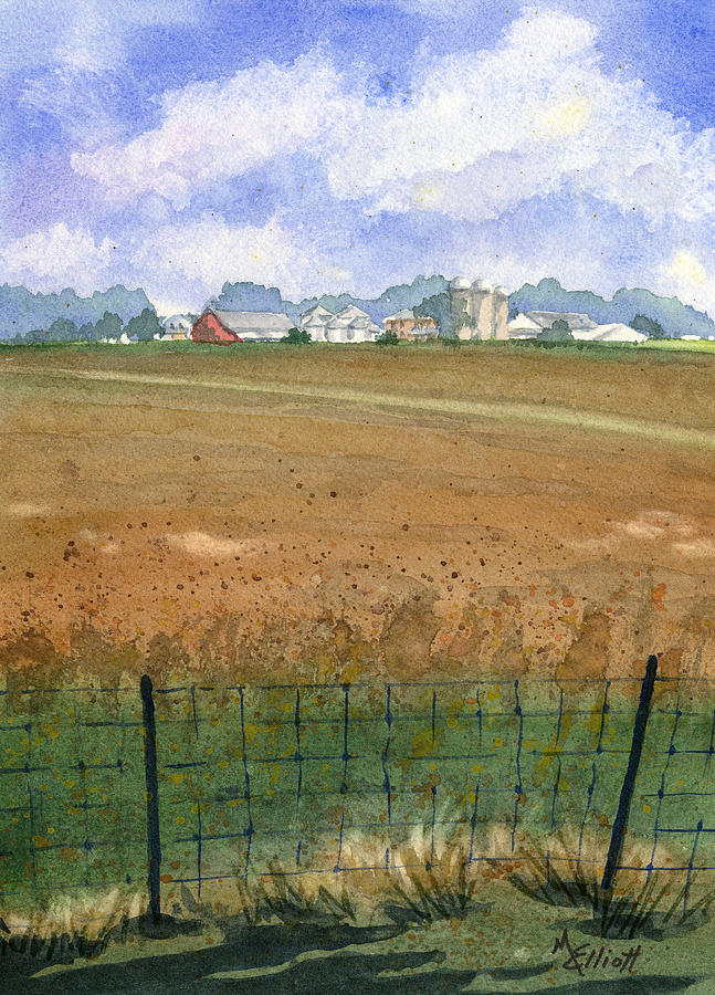 Farm Painting - Beautiful Ohio by Marsha Elliott