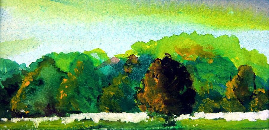 Landscape Painting - Beautiful Ohio by Mindy Newman
