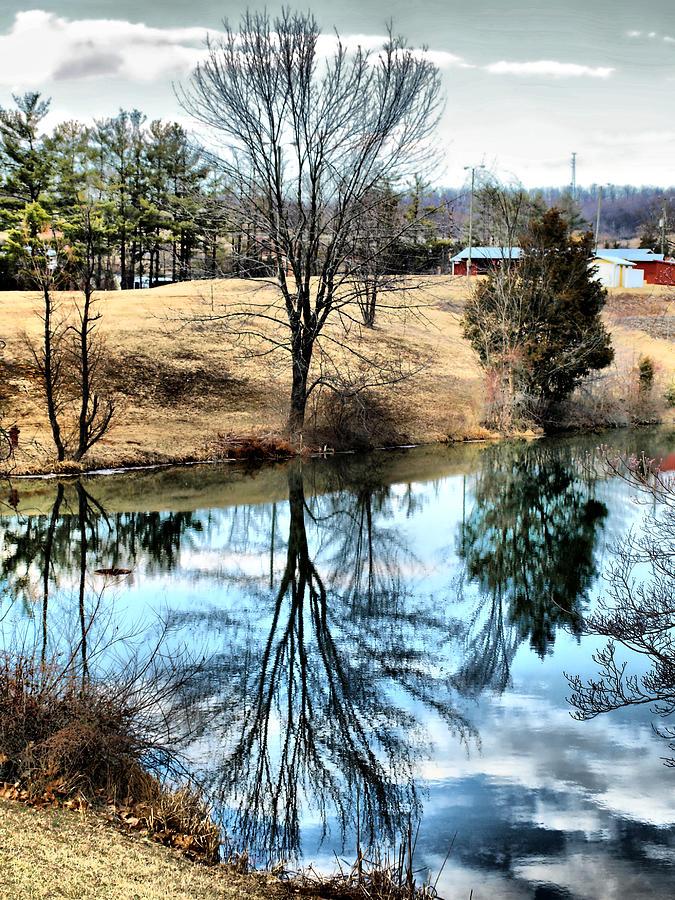 Pond Photograph - Beautiful Reflection 2 by Kathy Jennings