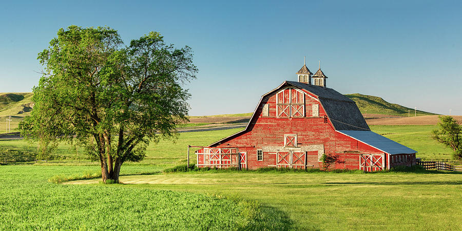 Red Photograph - Beautiful Rural Morning by Todd Klassy