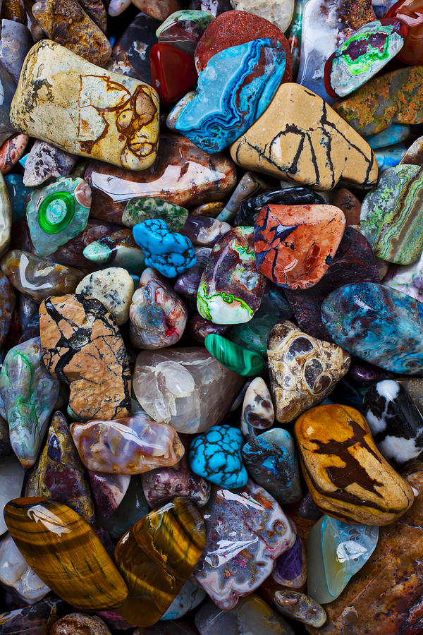 Stone Photograph - Beautiful Stones by Garry Gay