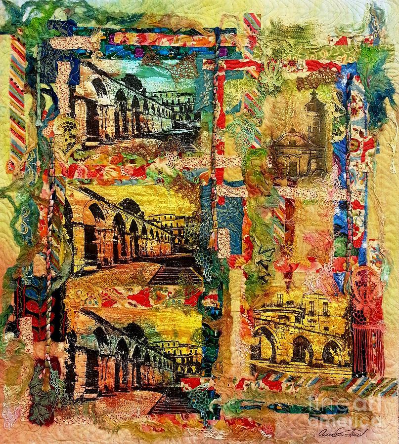 Italy Mixed Media - Beautiful Sulmona Italy by Averil Stuart-Head
