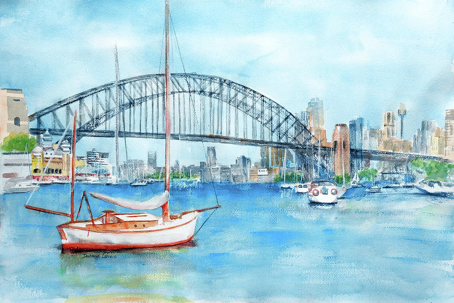 Beautiful Sydney Harbour by Debbie Lewis