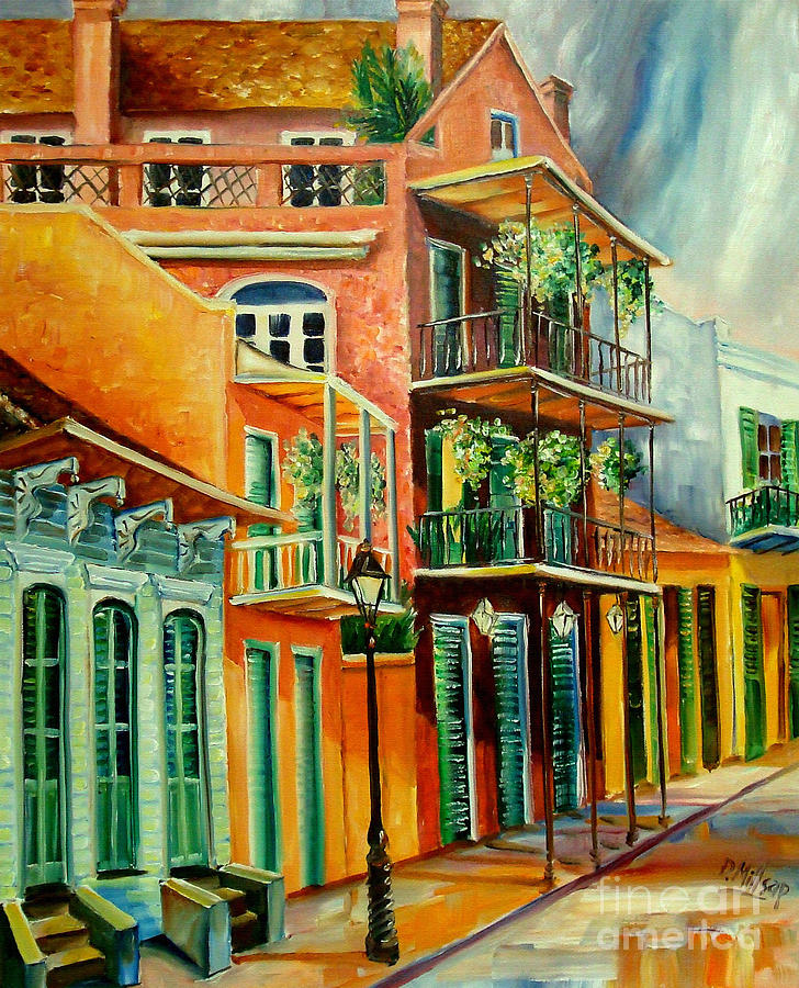New Orleans Painting - Beautiful Vieux Carre by Diane Millsap