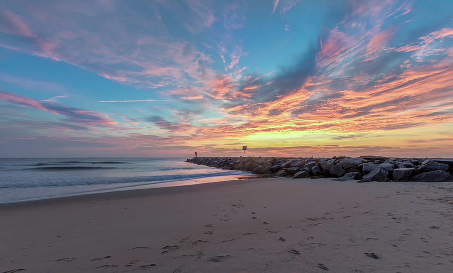 Beautiful Virginia Beach sunrise by Brian Knight