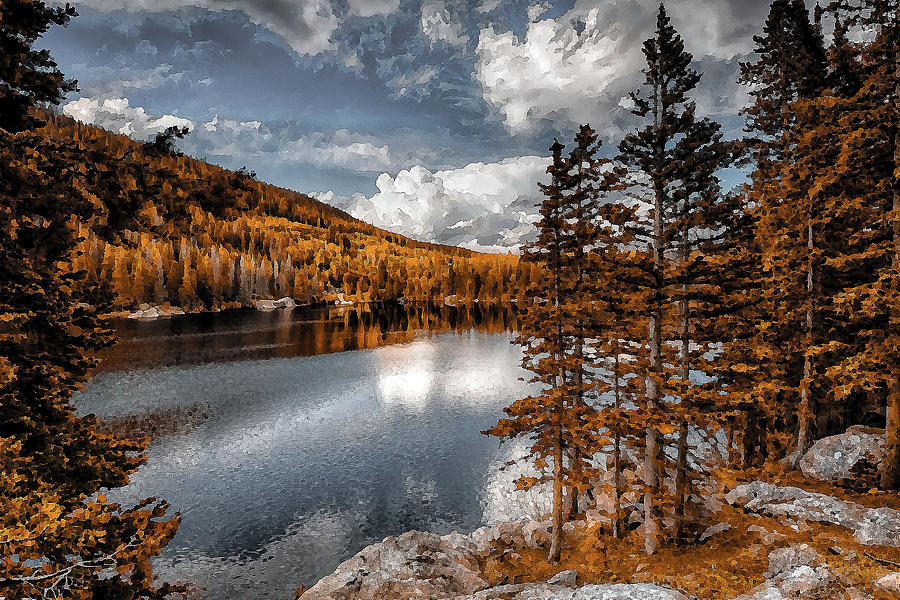 Mixed Media Mixed Media - Beautiful Wilderness by Garett Gabriel