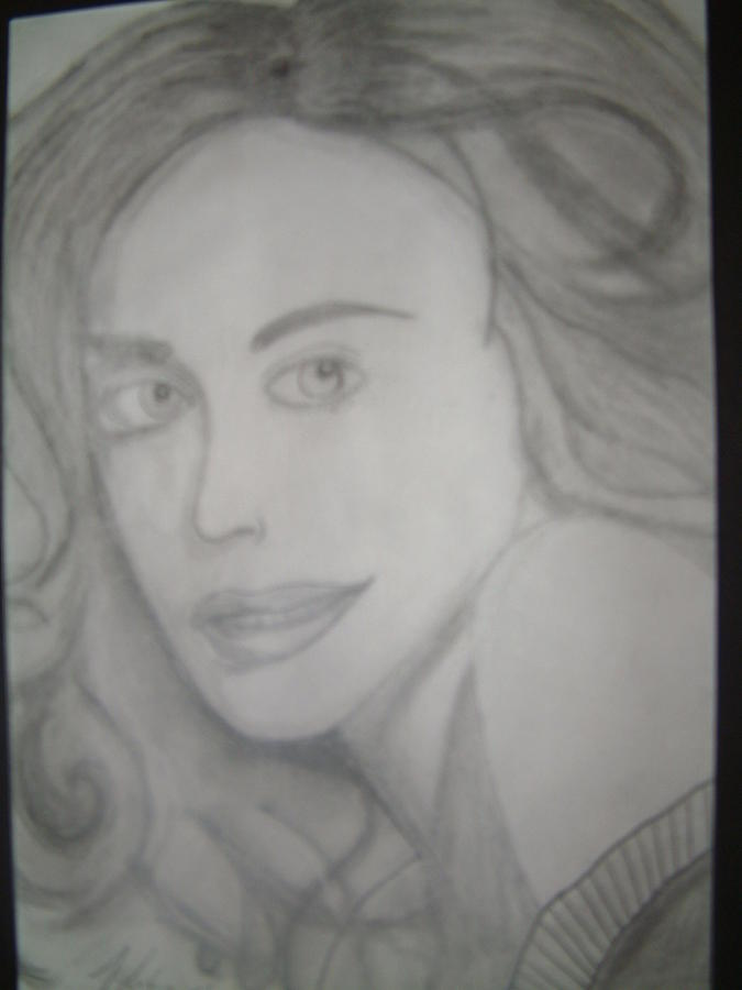 Beautiful Lady Drawing - Beautiful Women by Tyler Brock
