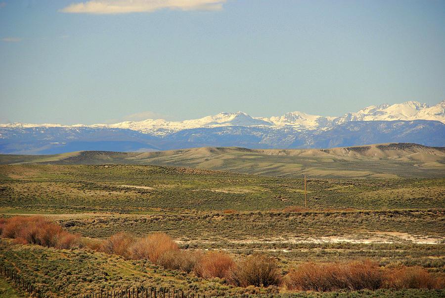 Wyoming Photograph - Beautiful Wyoming by Susanne Van Hulst