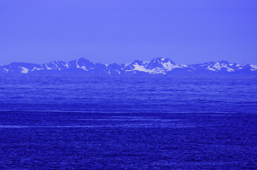 Landscape Photograph - Beautifully Blue by Michael Nowotny