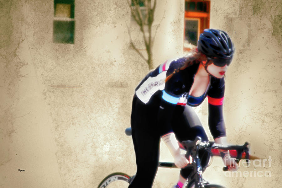 Bicycle Photograph - Beauty And Her Beast  by Steven Digman