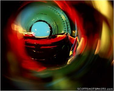 Wine Photograph - Beauty At The Bottom- Red Wine 2 by Scott Thompson