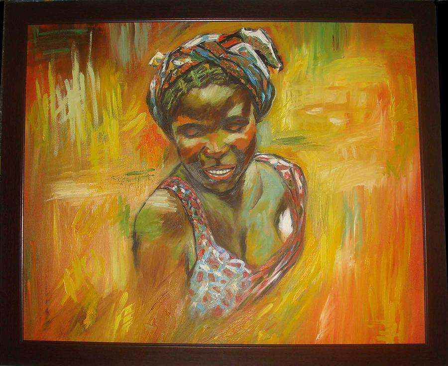 Beauty Painting by Daisy Bandha