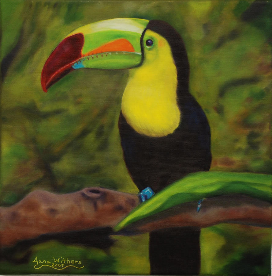 Belize Painting - Beauty in Belize by Jana Withers