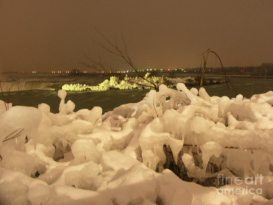 Ice Photograph - Beauty In Nature by Deborah Selib-Haig DMacq