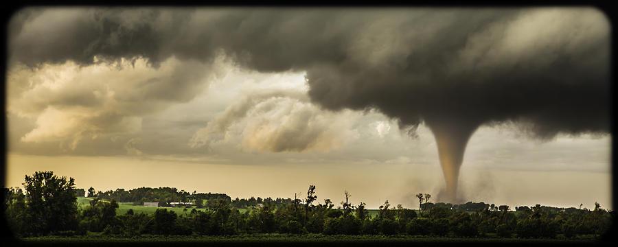 Tornado Photograph - Beauty In The Beast by Scott Burris