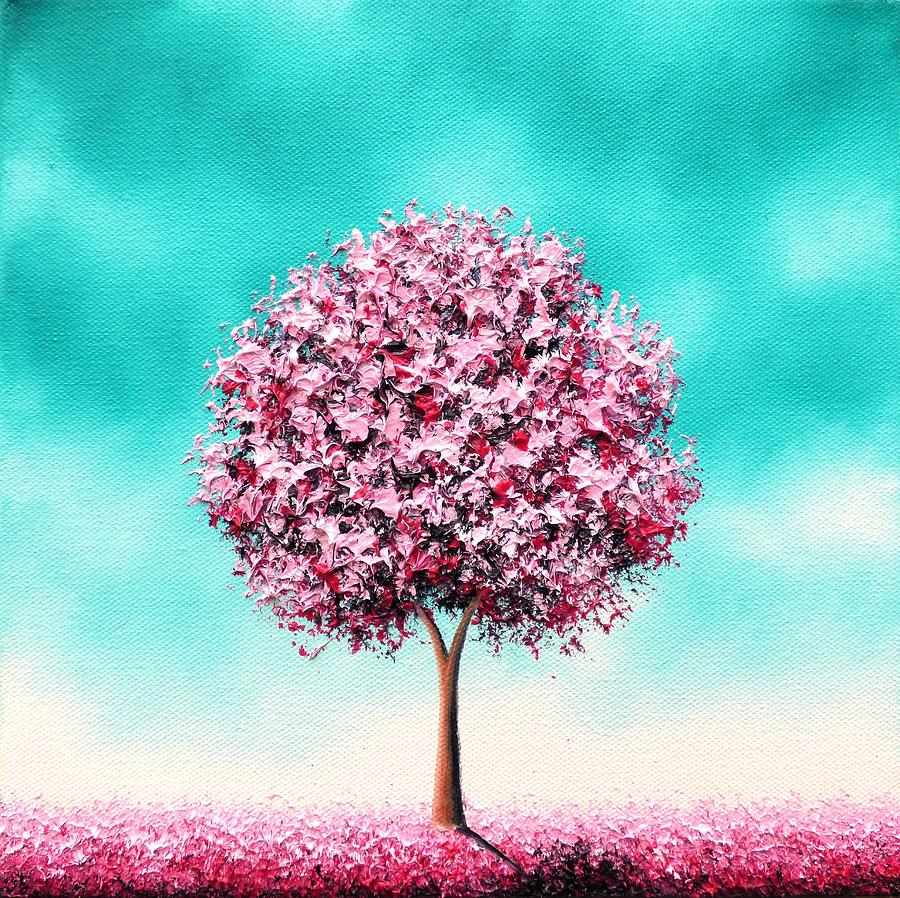 Oil Painting Painting - Beauty In The Bloom by Rachel Bingaman