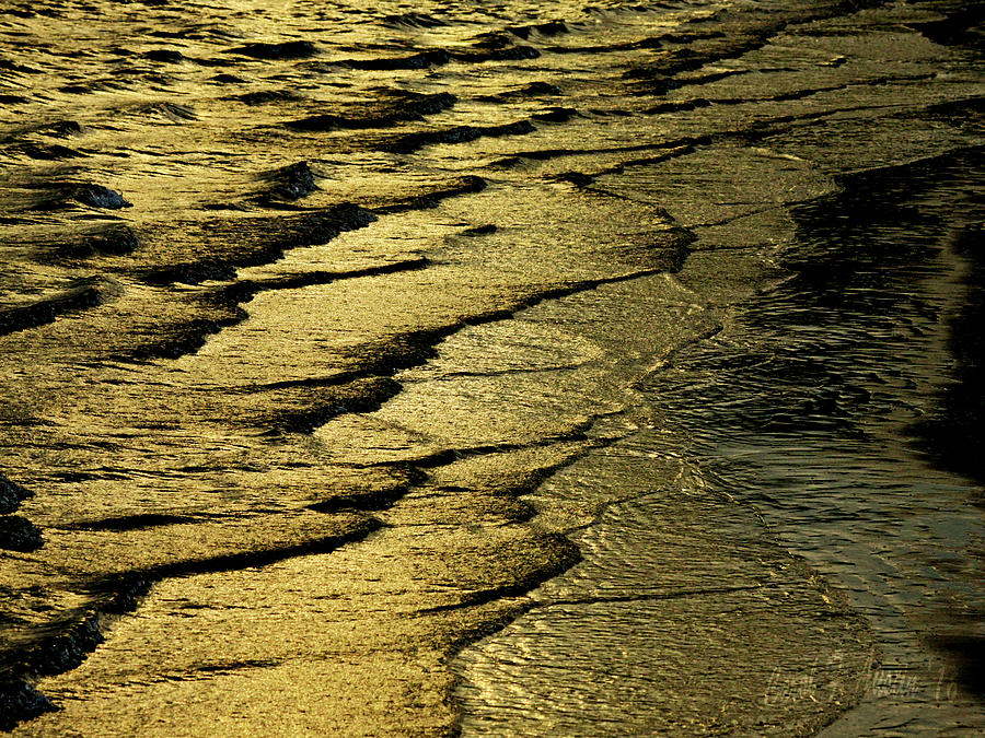 Beauty In Water Movement Wall Art Print Photograph by Carol F Austin