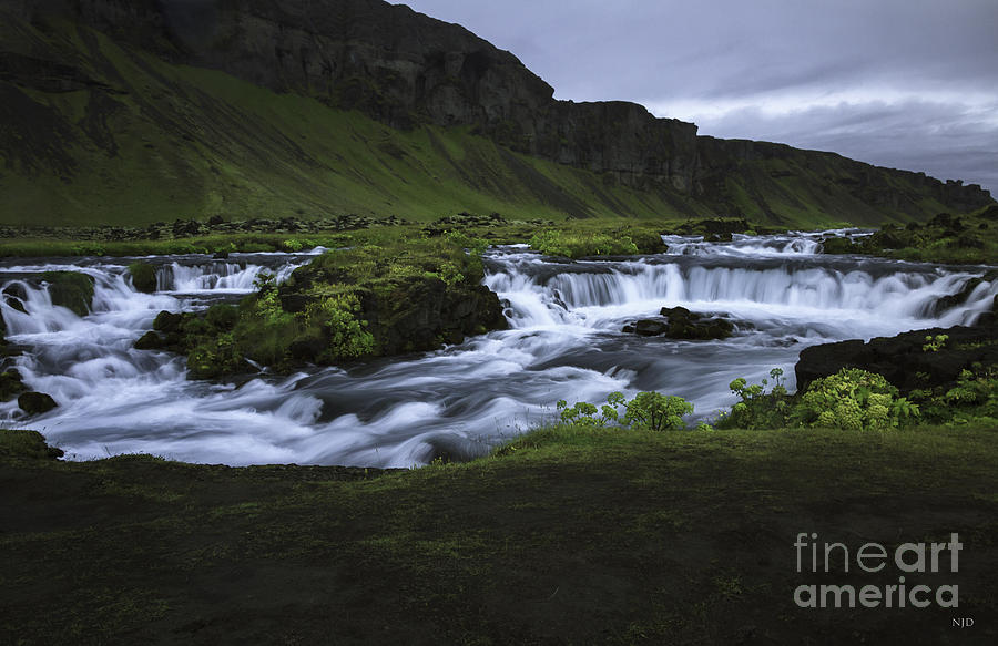 Landscape Photograph - Beauty Is Everywhere In Iceland by Nancy Dempsey