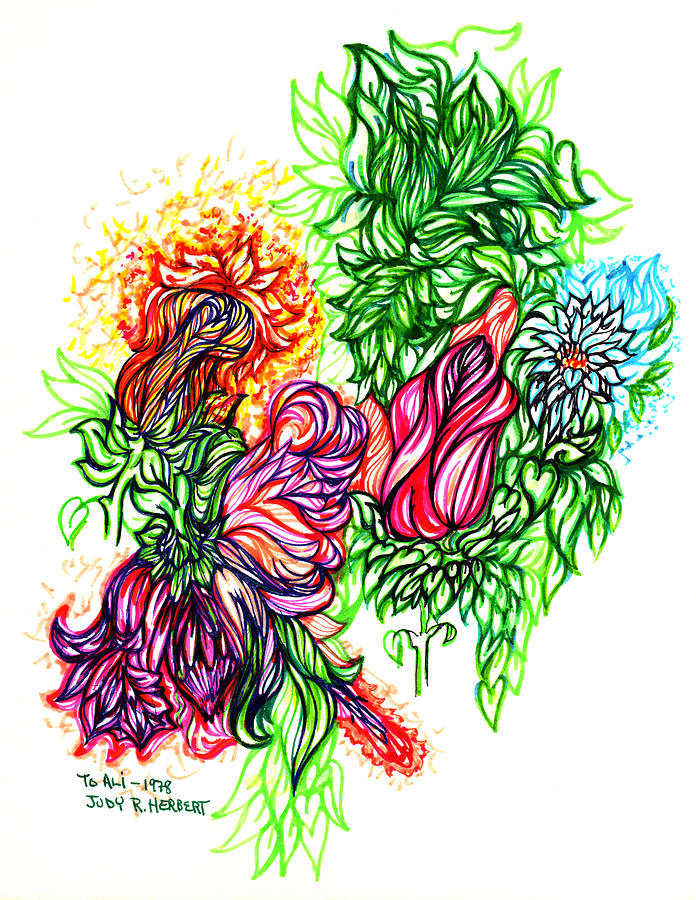 Beauty Of Nature Drawing By Judith Herbert