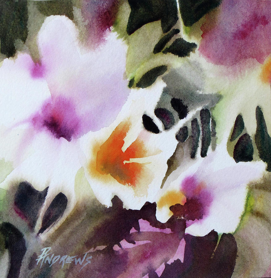 Floral Painting - Beauty Pageant by Rae Andrews