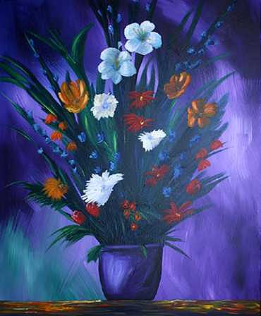 Floral Painting - Beauty Tones by Elizabeth  Burry