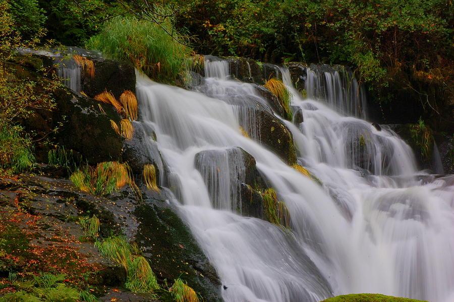 Water Photograph - Beaver Cr Falls 2 by Scott Gould