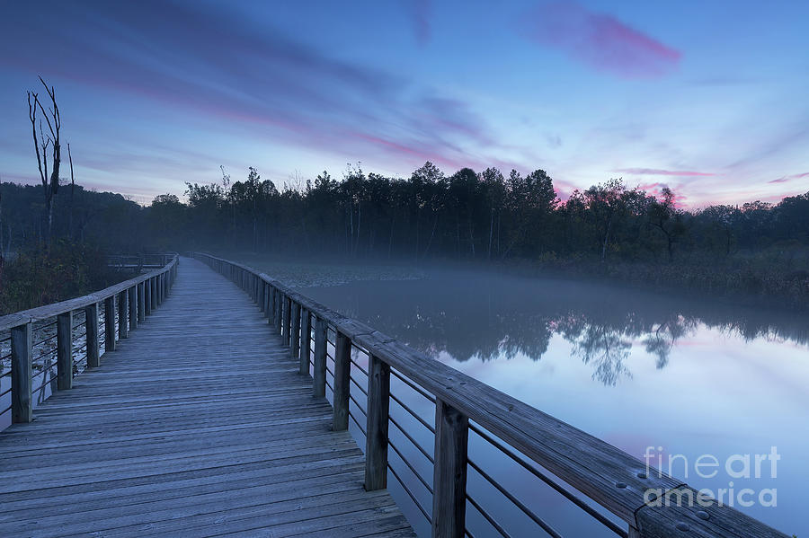 Cuyahoga Valley National Park Photograph - Beaver Marsh Dawn by Joshua Clark