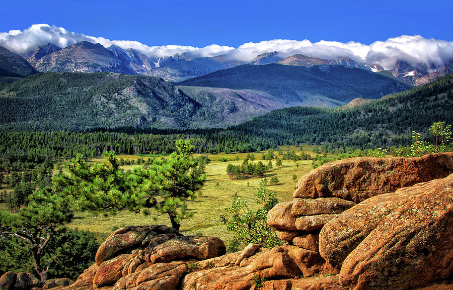 Rocky Mountain National Park Photograph - Beaver Meadows In Rocky Mountain National Park by Carolyn Derstine