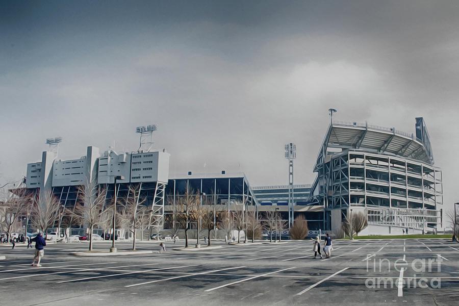 Beaver Stadium Photograph