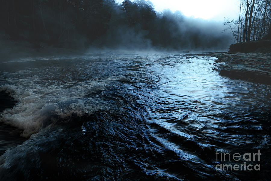 Landscape Photograph - Beavers Bend Fog by Tamyra Ayles