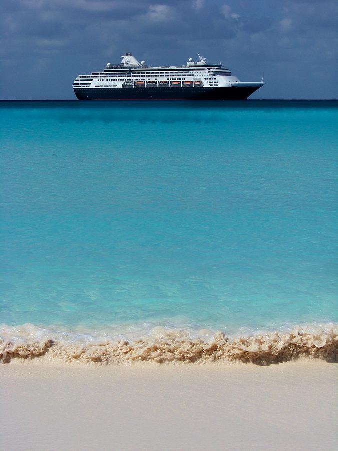 Cruise Ships Photograph - Beckoning by Karen Wiles