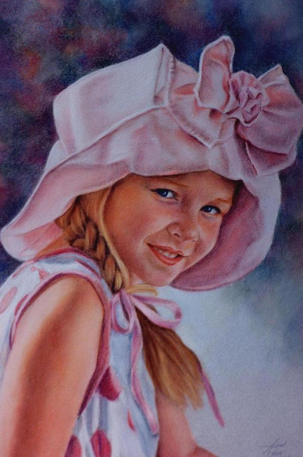 Becky Painting by Ann Peck
