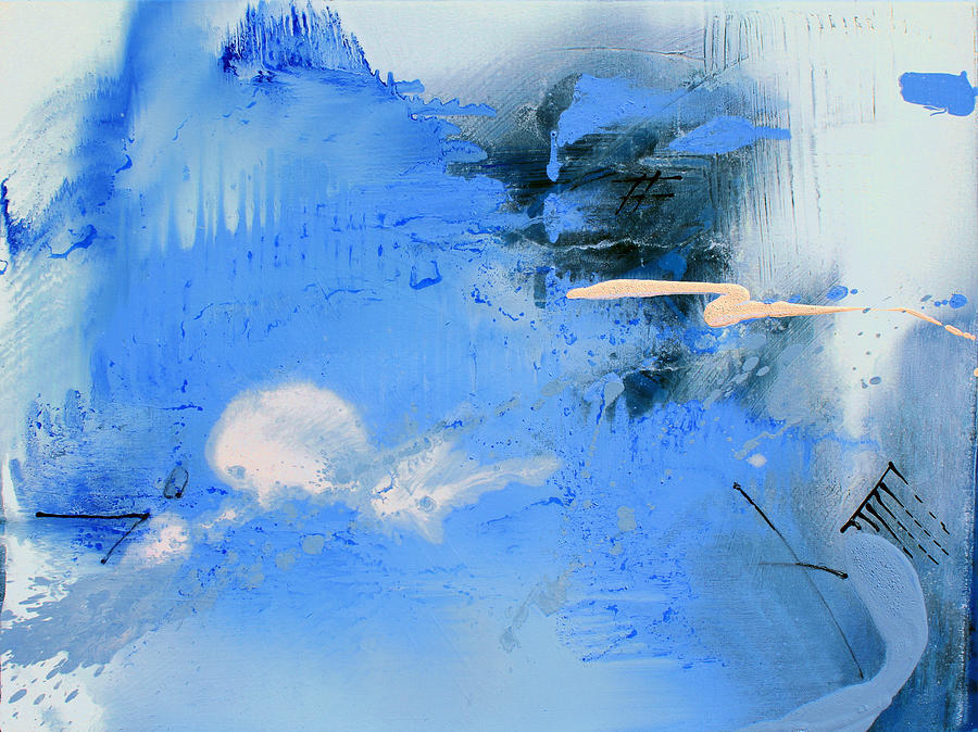 Clouds Painting - Becoming by Ethel Vrana