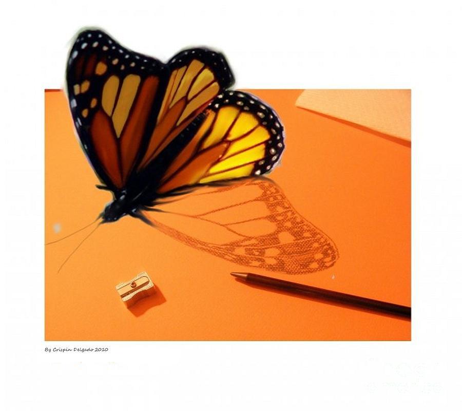 Photoshop Digital Art - Becoming Free  by Crispin  Delgado