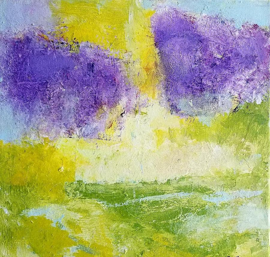Abstract Painting - Becoming One by Patricia Byron